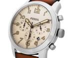 Fossil Men's 44mm Pilot 54 Chronograph Watch - Light Brown 3