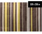 Stripe 320 x 230cm Zen Rug - Green 1