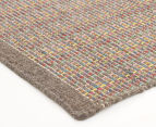 Scandi Floors Artisan Wool 280x190cm Rug - Grey 2