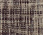 Handwoven Pure Wool Flatweave 280x190cm Rug - Slate 4