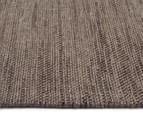 Handwoven Wool & Jute Flatweave 320x230cm Rug - Grey 3