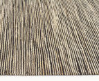 Scandi Floors Artisan Hemp 280x190cm Rug - Black 3
