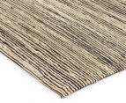 Scandi Floors Artisan Hemp 320x230cm Rug - Black 2