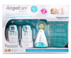 Angelcare AC401-2PU Deluxe Movement & Sound Baby Monitor 2