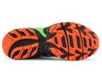 ASICS Kids' GEL-Venture 5 GS Shoe - Black/Flame Orange/Green Gecko 6