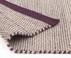 Scandi Floors Artisan Wool 280x190cm Rug - Aubergine 4