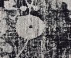 Handwoven Viscose & Cotton Flatweave 280x190cm Rug - Green 4