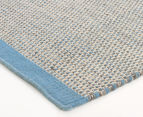Scandi Floors Artisan Wool 225x155cm Rug - Blue 2