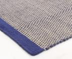 Scandi Floors Artisan Wool 225x155cm Rug - Navy 2