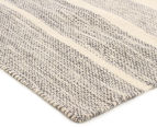 Scandi Floors Artisan Wool 225x155cm Rug - Medium Grey 2