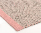 Scandi Floors Artisan Wool 320x230cm Rug - Pink 2