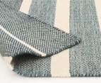 Scandi Floors Artisan Wool 320x230cm Rug - Teal 4