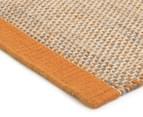 Scandi Floors Artisan Wool 225x155cm Rug - Rust 2