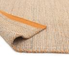 Scandi Floors Artisan Wool 225x155cm Rug - Rust 4