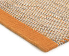 Scandi Floors Artisan Wool 320x230cm Rug - Rust 2