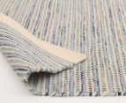 Scandi Floors Artisan Wool 225x155cm Rug - Blue 4