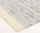 Scandi Floors Artisan Wool 280x190cm Rug - Blue 2