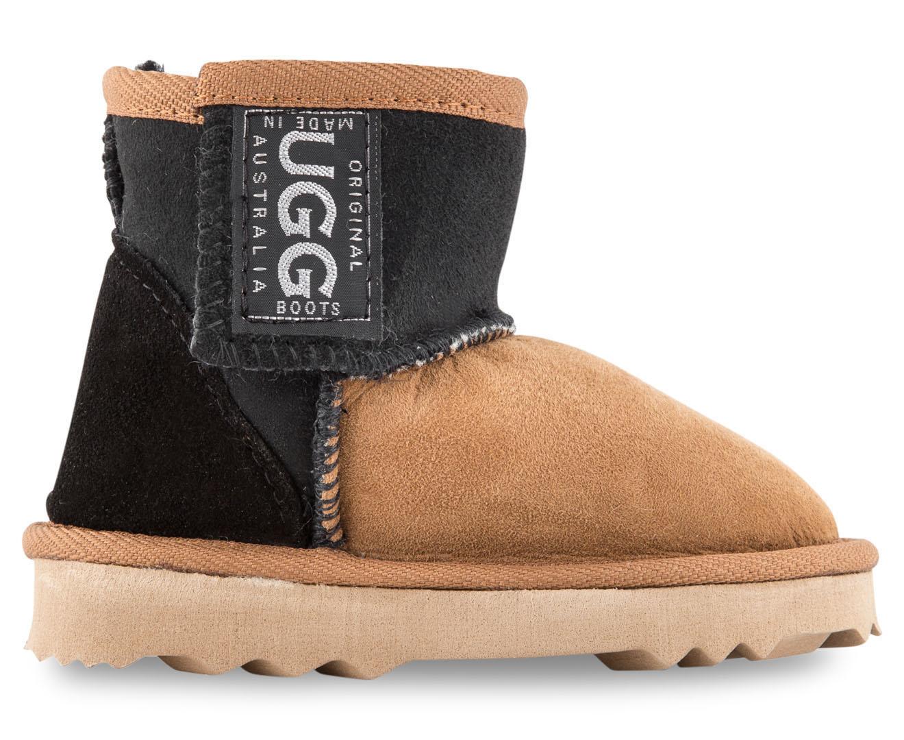 3fdae474ca4 Original UGG Boots Kids' Two Tone Walker Boot - Chestnut/Black ...