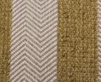 Handwoven Cotton & Wool Flatweave 320x230cm Rug - Green 4