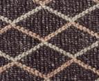 Handwoven Viscose & Wool 320x230cm Rug - Charcoal 4