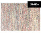 Scandi Floors Artisan Wool 280x190cm Rug - Multi 1