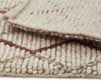 Handwoven Viscose & Wool 320x230cm Rug - Copper 5
