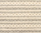 Scandi Floors Artisan Wool 320x230cm Rug - Light Grey 5