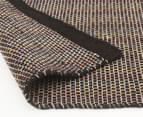 Scandi Floors Artisan Wool 280x190cm Rug - Black 4