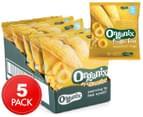 5 x Organix Finger Foods Sweetcorn Rings 20g 1