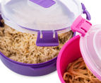Sistema To Go Microwave Container 3-Pack - Randomly Selected 4