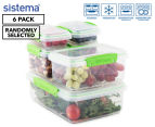 Sistema Klip It Accents Container 6-Pack - Randomly Selected 1