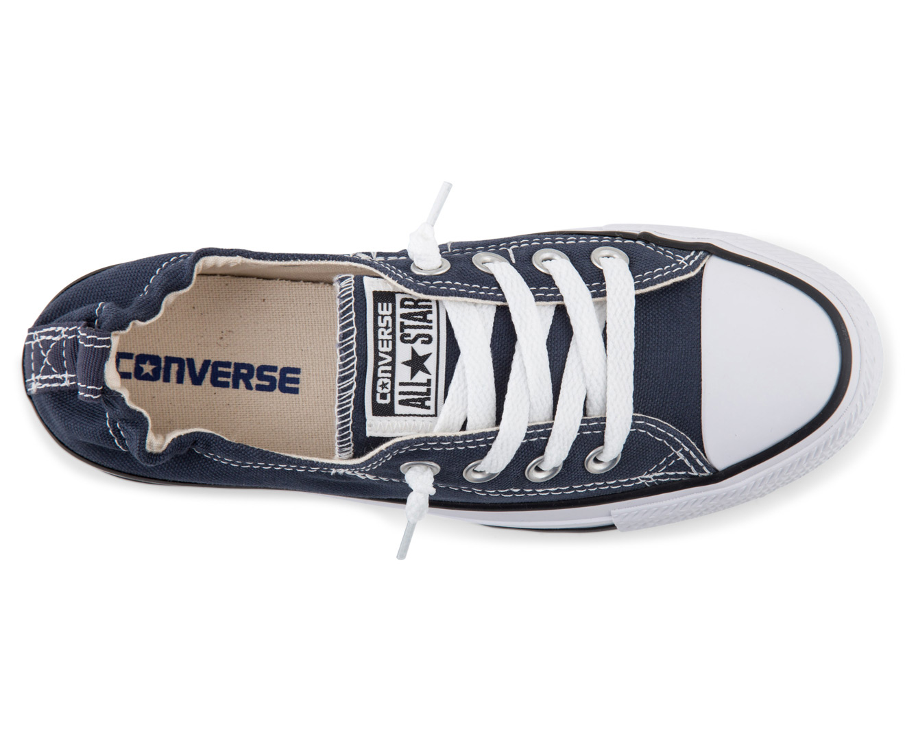 b6eccfbc976d Converse Women s Chuck Taylor All Star Shoreline Slip Sneaker - Athletic  Navy