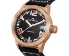 Marc Coblen 42mm MC42R1 Watch + 3 Assorted Straps & Bezels - Black/Rose Gold 3