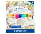 STAEDTLER Ergo Soft Triangular Coloured Pencils 24-Pack 1