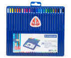 STAEDTLER Ergo Soft Aquarell Triangular Watercolour Pencils 24-Pack 1