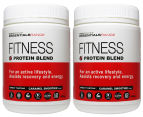 BSc Essentials Fitness Protein Blend Caramel Smoothie 2pk 450g 1