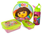 Zak! Dora the Explorer 4-Piece Lunch Set - Pink 1