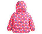 BQT Baby Polka Dots Jacket - Pink 2