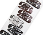 6 x Conair Value Pack Snap Clips - Multi 16-Pack 2