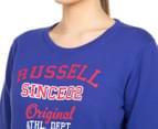 Russell Athletic Women's Campus Original Crew - Seven Seas 6