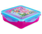 Zak! Shopkins Snap Sandwich Container - Pink/Blue 1