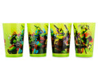 Zak! TMNT 4-Pack Tumblers 266mL - Green 1
