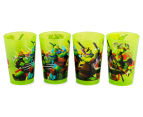 Zak! TMNT 4-Pack Tumblers 266mL - Green 2
