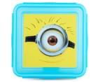 Zak! Minions Snap Sandwich Container - Blue 2