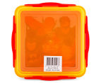 Zak! Justice League Snap Sandwich Container - Red/Yellow 6
