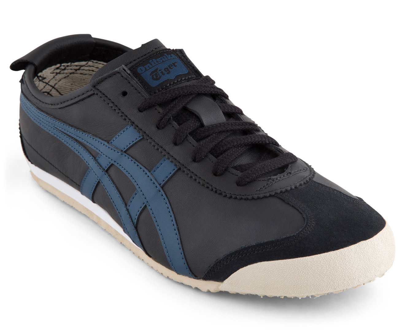 finest selection 674f4 4a5d9 Onitsuka Tiger Mexico 66 Shoe - Black/Poseidon