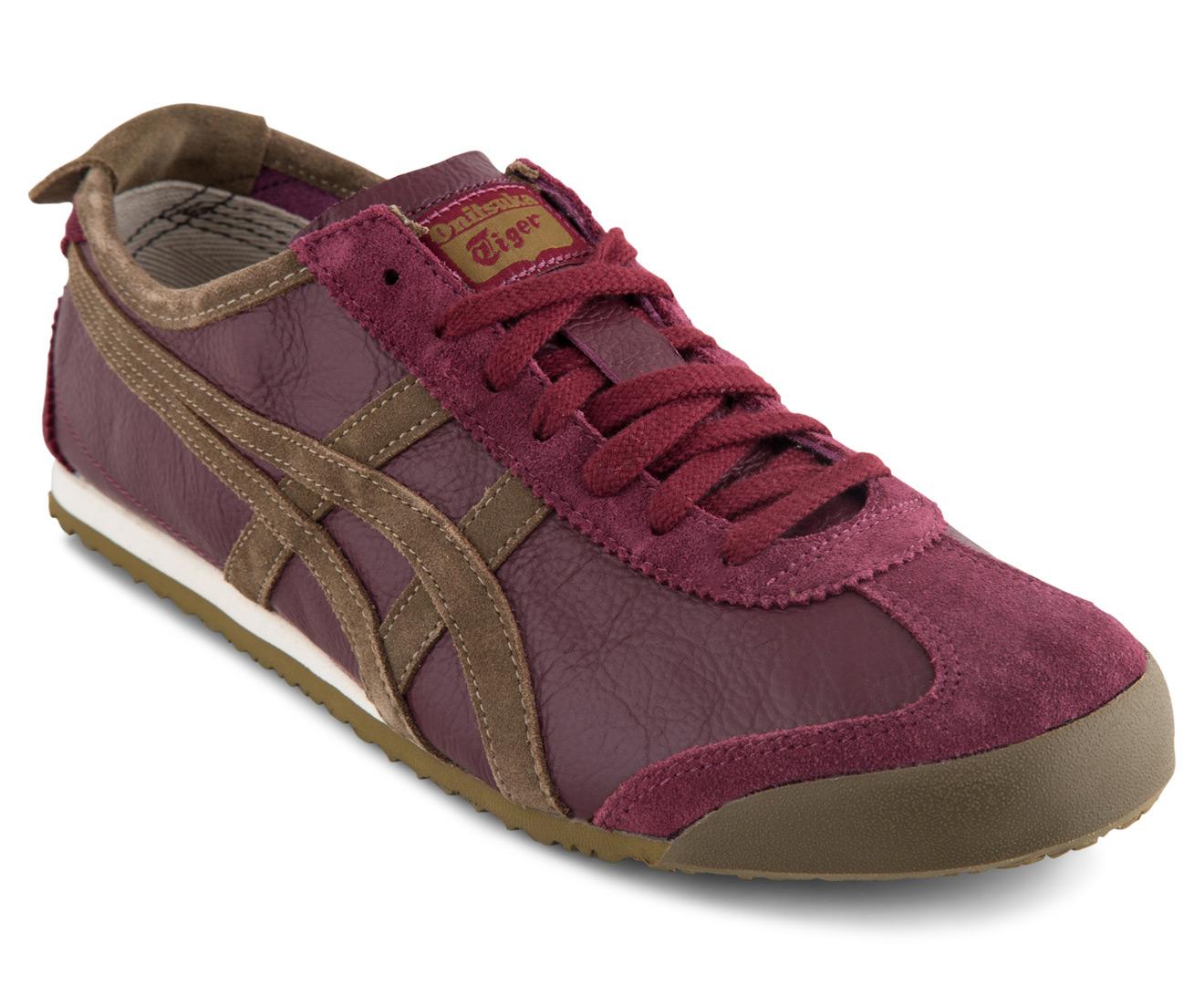 online store 48ed7 25f74 Onitsuka Tiger Mexico 66 Vintage Shoe - Zinfandel/Olive