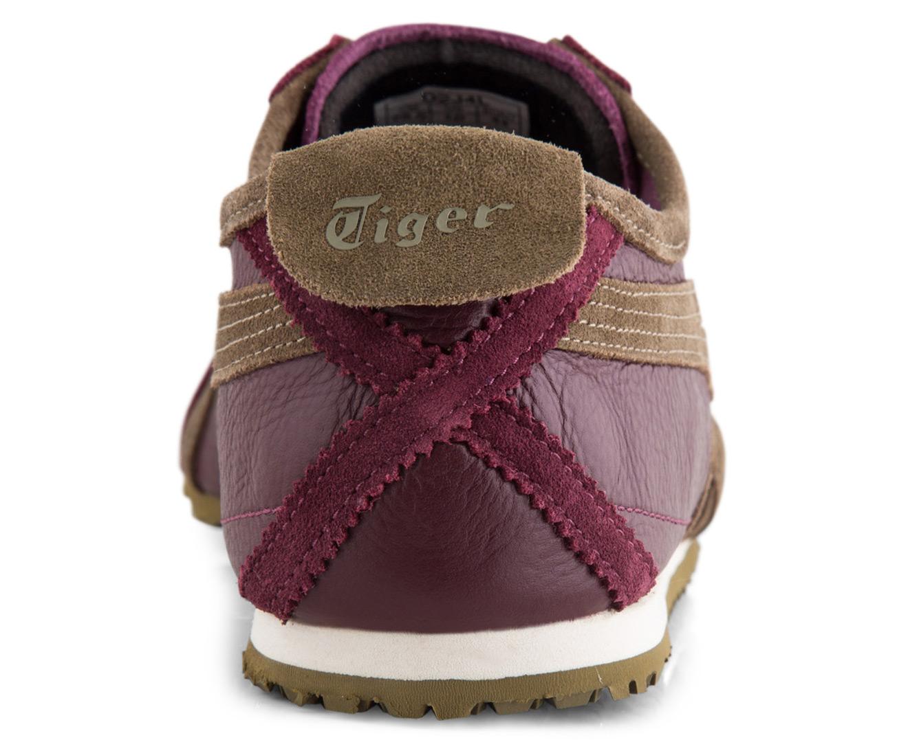 online store 09d4d ac679 Onitsuka Tiger Mexico 66 Vintage Shoe - Zinfandel/Olive