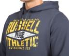 Russell Athletic Men's Campus Iota Hoodie - Stormcloud 6