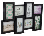 8-Photo Gallery Collage Frame - Black 2